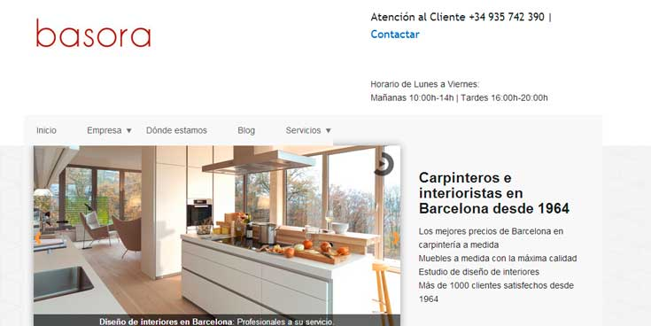 Carpinteria de muebles idea creativa della casa e dell for Web de muebles