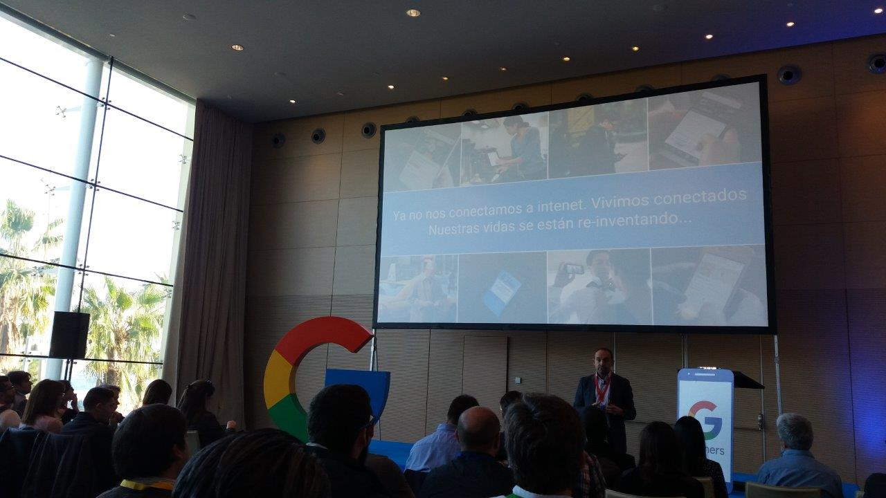 Evento Google Partners Mobile Labs, Hotel W de Barcelona - Re-inventando