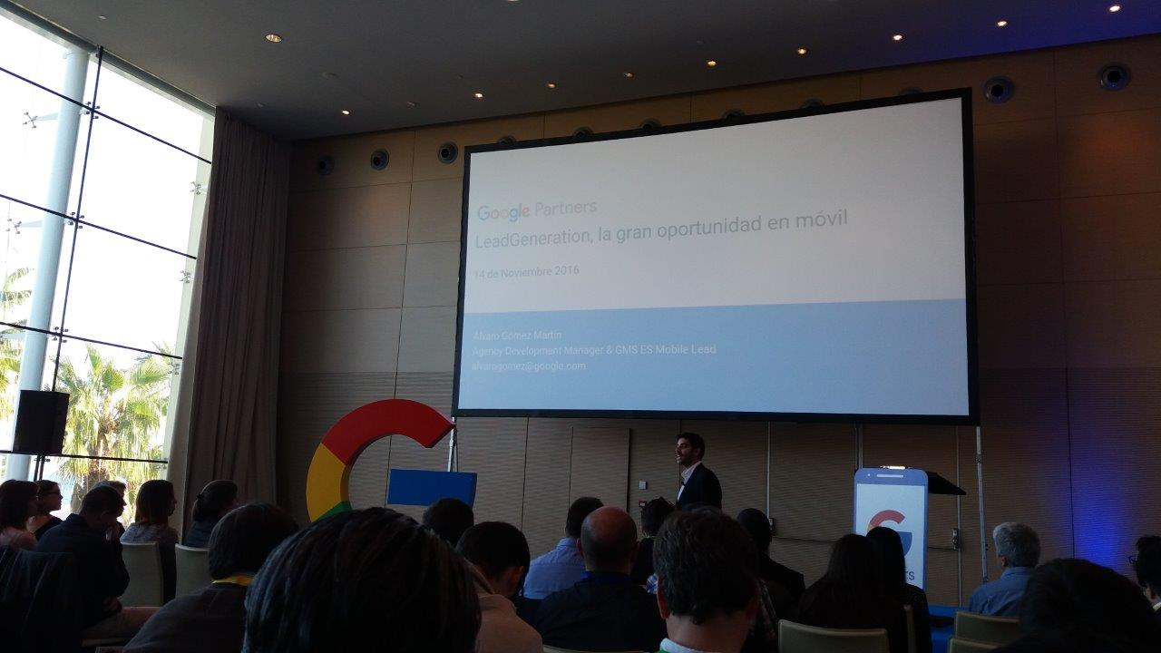 Evento Google Partners Mobile Labs, Hotel W de Barcelona - Ledgeneration, la gran oportunidad en el móvil