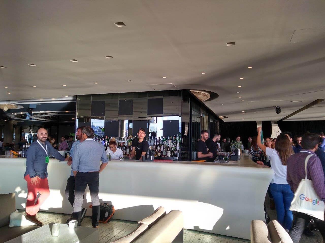 Presentación del equipo de asesoramiento estratégico Google en Barcelona Café del Mar Maremagnum