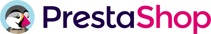 Logo PrestaShop Horizontal a color Preston