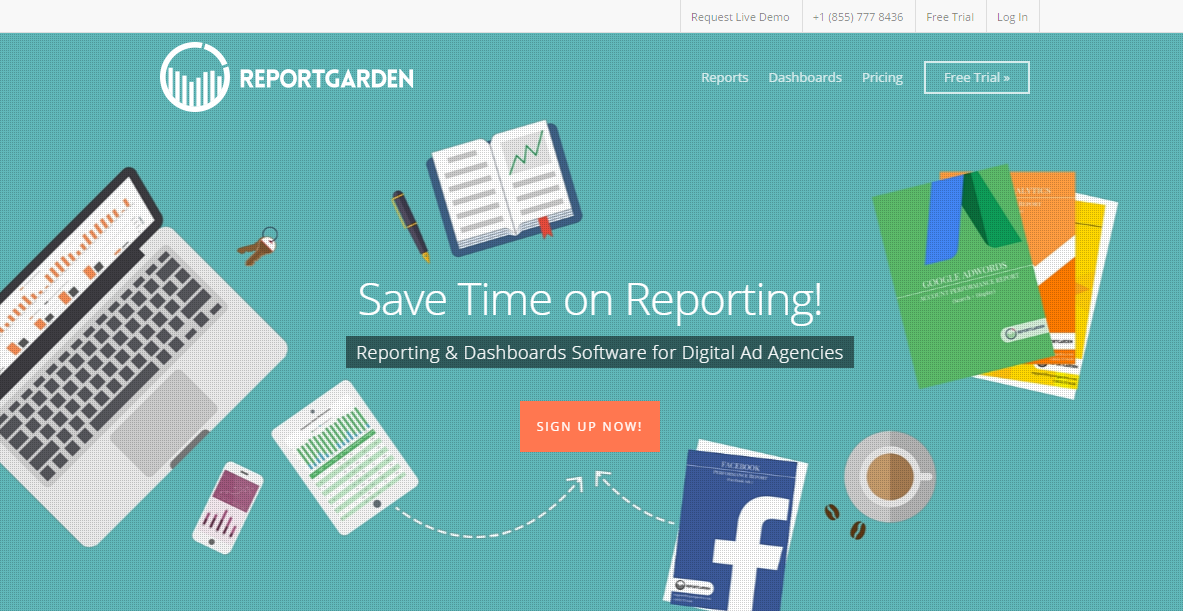 PPC & Adwords Reporting Tool Software | ReportGarden