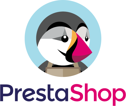 Logo PrestaShop Vertical Preston a color